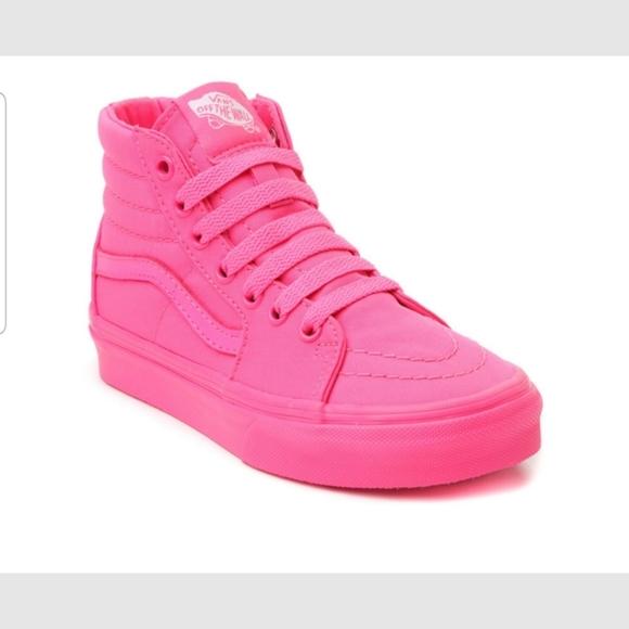 Vans Shoes | Mono Canvas Neon Pink